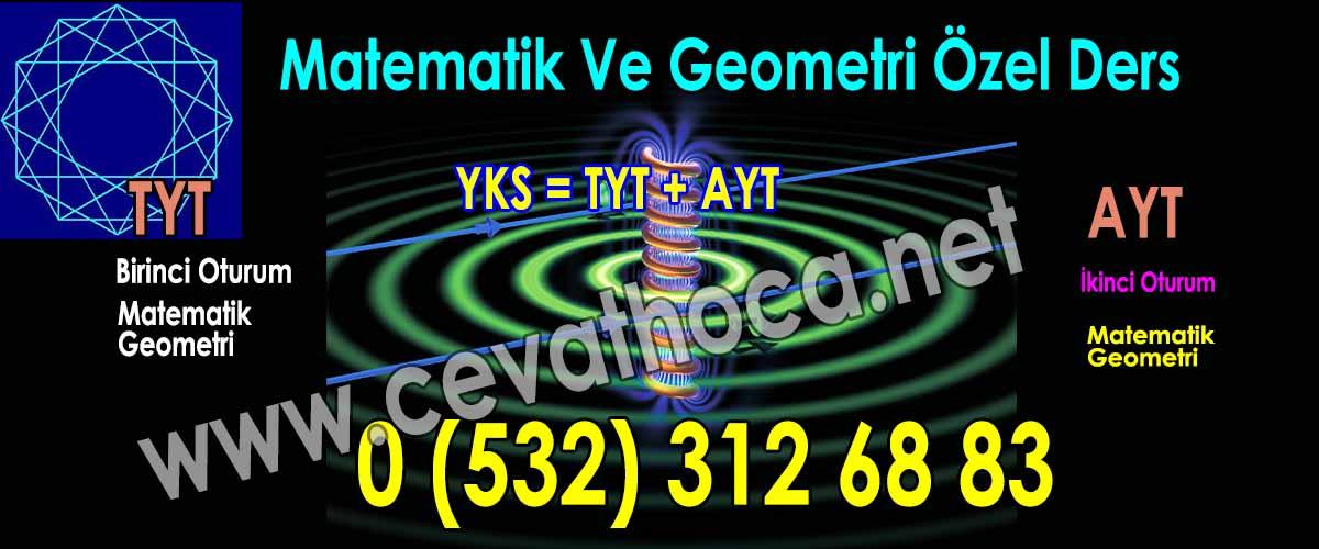 Matematik Ve Geometri Özel Ders