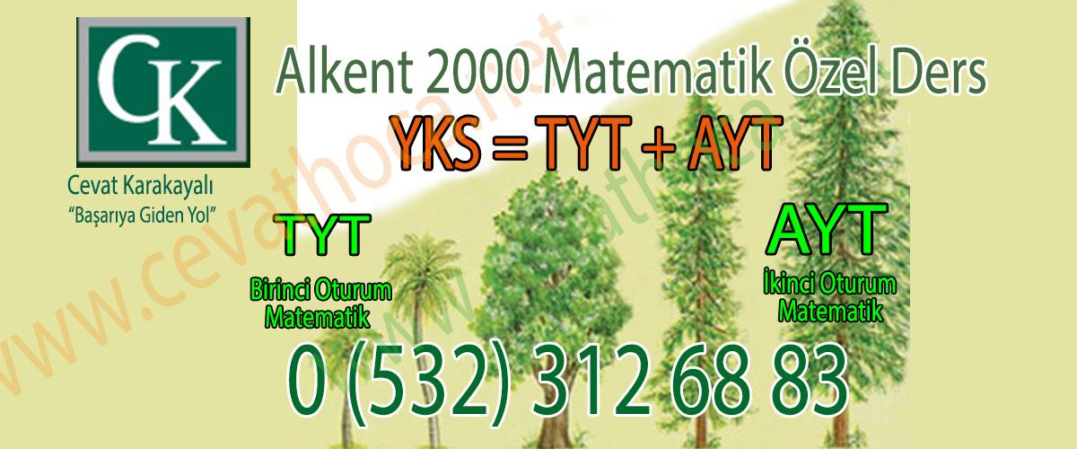Alkent 2000 Matematik Özel Ders