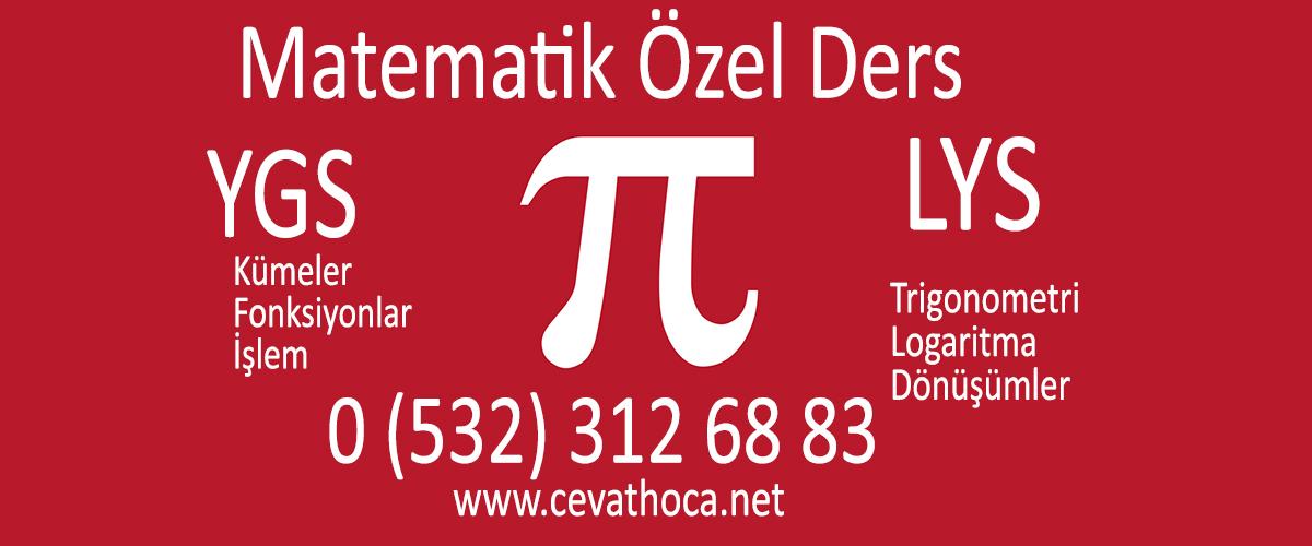 Matematik Özel Ders Halkalı