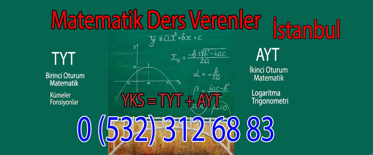 Matematik Ders Verenler İstanbul