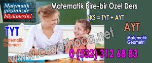 Matematik Bire-bir Özel Ders