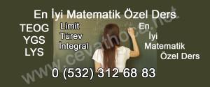 En İyi Matematik Özel Ders
