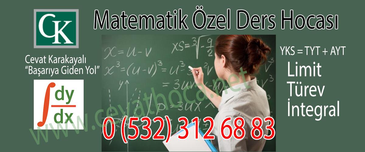 Matematik Özel Ders Hocası