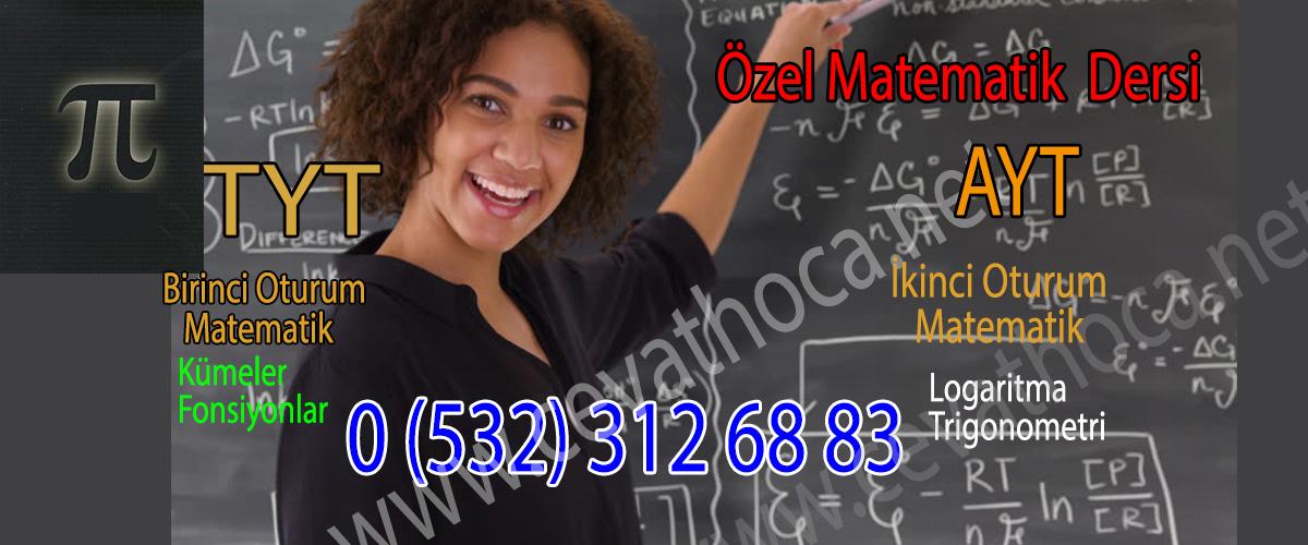 Özel Matematik Dersi