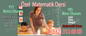 Özel Matematik Dersi Bahçeşehir