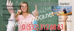 TYT Matematik Özel Ders İstanbul