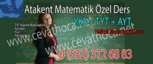 Atakent Matematik Özel Ders