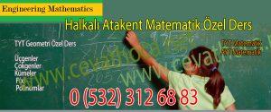 Halkalı Atakent Matematik Özel Ders