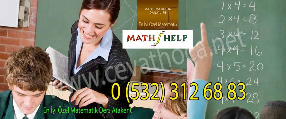 En İyi Özel Matematik Ders Atakent