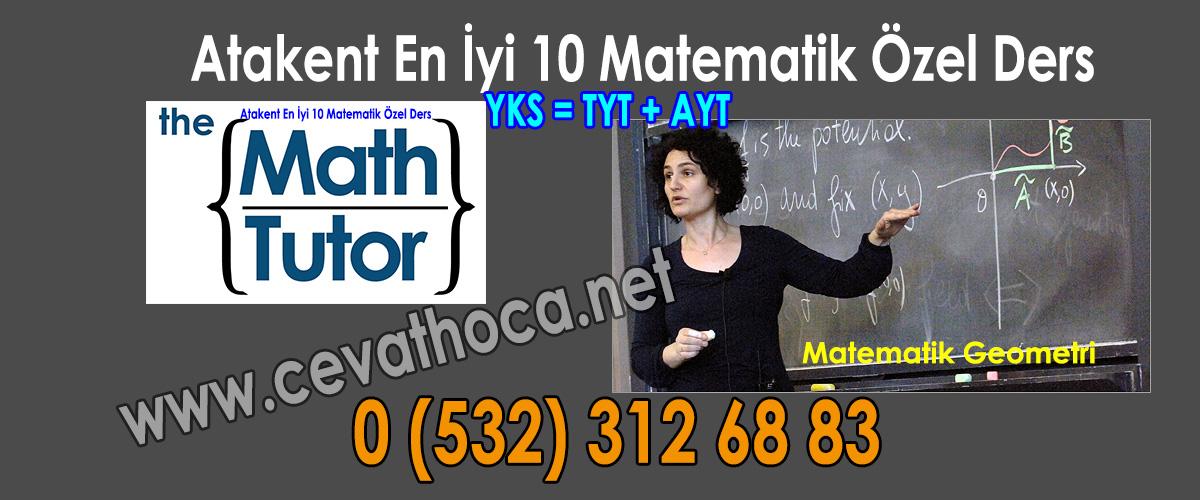 Atakent En İyi 10 Matematik Özel Ders