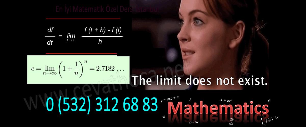 En İyi Matematik Özel Ders İstanbul