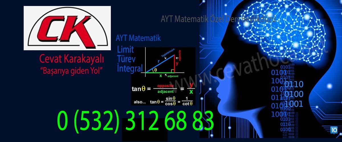 AYT Matematik Özel Ders Beylikdüzü