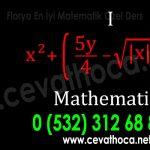 Florya En İyi Matematik Özel Ders