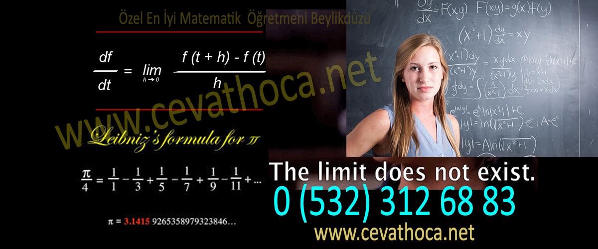 Özel En İyi Matematik Öğretmeni Beylikdüzü