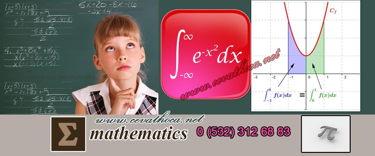 Matematik Birebir Dersi Verenler Beylikdüzü