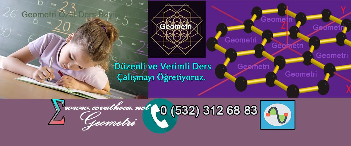 Geometri Özel Ders Beylikdüzü