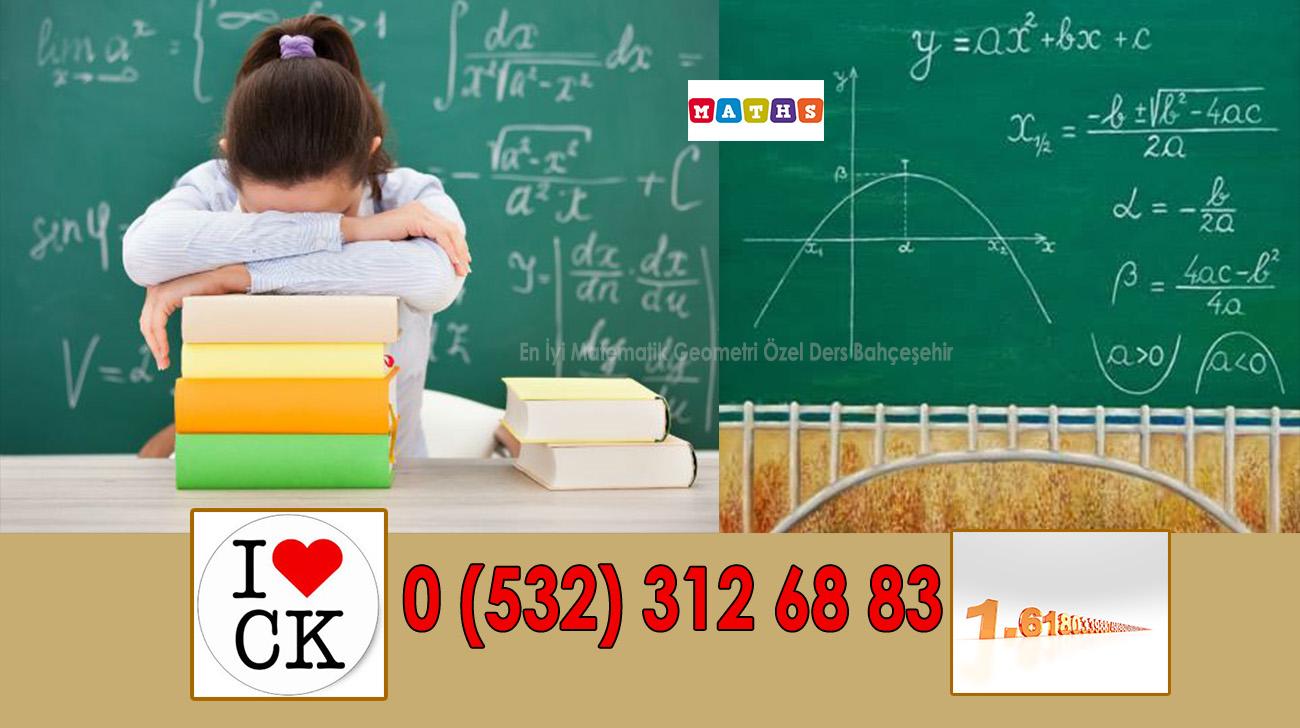 En İyi Matematik Geometri Özel Ders Bahçeşehir