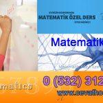 Matematik Yüz Yüze Birebir Ders Bakırköy